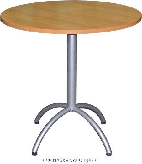 Стол для кафе м135 03 м135 05 с круглой