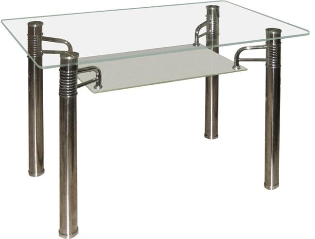 Стол со стеклом, столы для кухни со стеклом