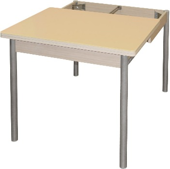 Купить раздвижной стол со стеклянной стелешницей