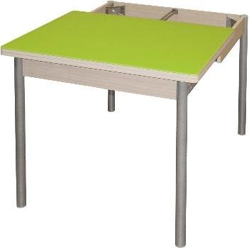 Раздвижной стол со стеклом М142.86