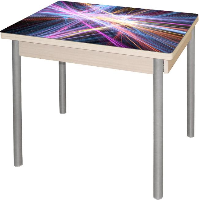 Cтеклянный стол с фотопечатью