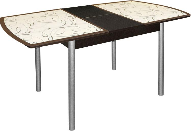Стеклянные раздвижные столы для кухни фото и цены новосибирск