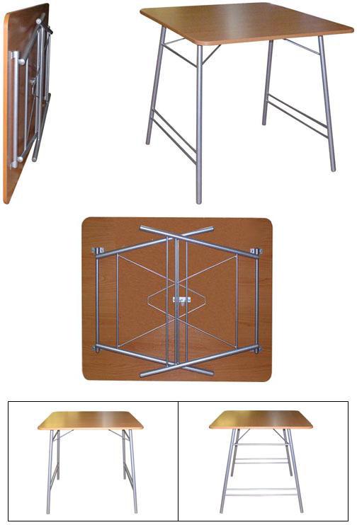 Механизм складного стола