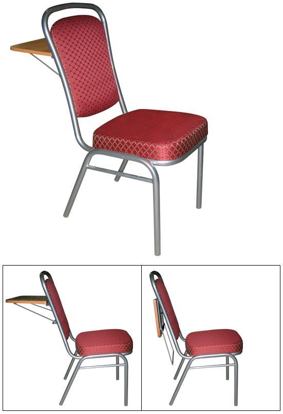 Стул для конференц-залов с откидным задним столиком М39