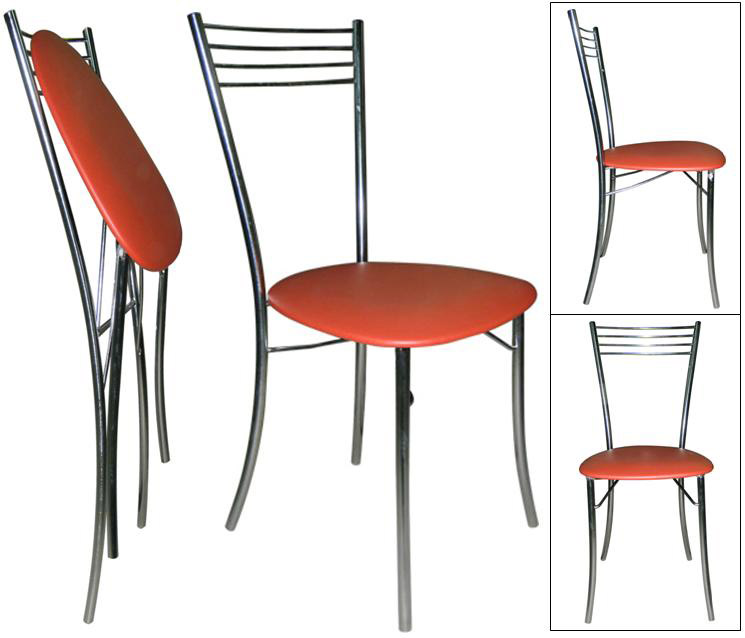 Металлические складные стулья