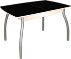 Cтол обеденный со стеклом, стол обеденный раздвижной, купить раздвижной кухонный стол