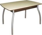 Cтол обеденный со стеклом, столы кухонные стеклянные раздвижные, купить раздвижной обеденный стол