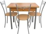 """Кухонный стол и стулья, столовые группы, обеденная группа """"Эконом-7"""", обеденные группы эконом"""