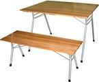 Стол складной, скамейка складная, садовая мебель, садовая скамейка, мебель для дома и дачи