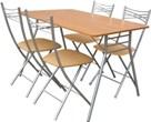 """Стол складной 4 стула, складной стол со стульями, купить стулья и столы складные, обеденная группа """"Складной-5"""""""