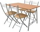 """Стол складной 4 стула, складной стол со стульями, складные стулья и столы, купить стулья и столы складные, обеденная группа """"Складной-3"""""""