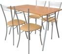 """Стол складной 4 стула, складной стол со стульями, обеденная группа """"Складной-6"""", складной стул, купить стулья и столы складные"""