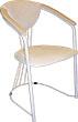 Cтулья металлические с подлокотниками, стулья с подлокотниками для дома, стул с подлокотниками обеденный, стулья кухонные с подлокотниками