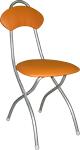 Складные стулья с мягкой спинкой, мягкие складные стулья, кухонные складные стулья, складные стулья СПб, складные стулья недорого М4