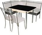 Обеденные группы Россия, обеденные группы цены, купить обеденный стол и стулья, где купить столы и стулья