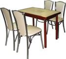 Набор стол и стулья, стол и 4 стула, столовые группы