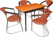 Обеденная группа венге, обеденные группы оптом, кухонные столы и стулья, обеденные группы