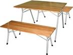 """Садовая мебель, стол складной, скамейка складная, садовая скамейка, обеденная группа """"Складной-7"""""""